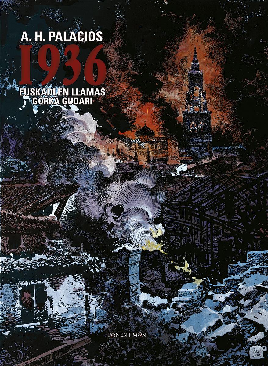 Resultado de imagen de 1936 euskadi en llamas